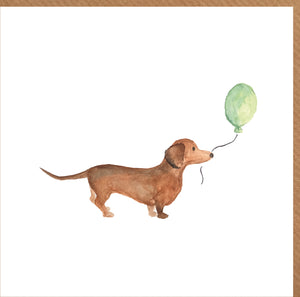 Sausage Dog Card