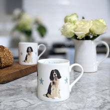 Load image into Gallery viewer, Springer Spaniel Fine Bone China Mug