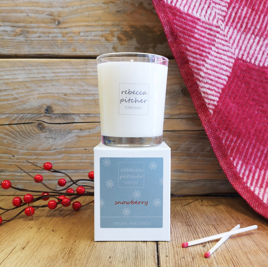 Snowberry Luxury Candle