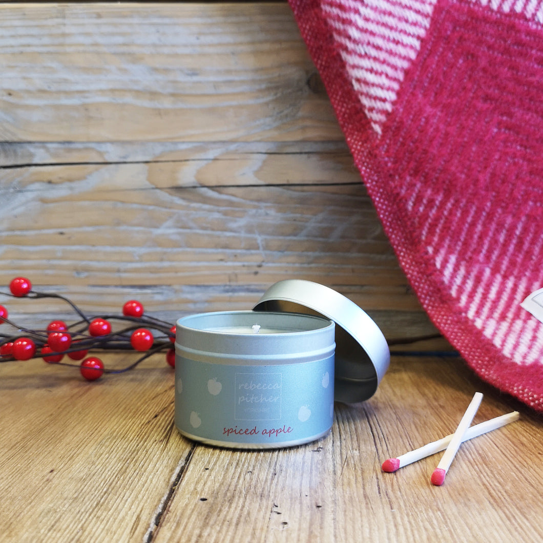 Spiced Apple Tin Candle