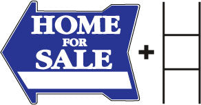 FSBO Arrow Directional Sign