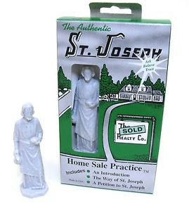 Saint Joseph Statue Home Sale Kit