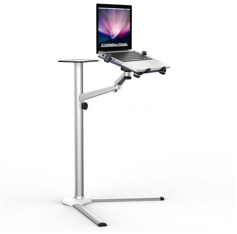 Adjustable floor stand for laptop tablet and phone thingy club adjustable floor stand for laptop tablet and phone tyukafo