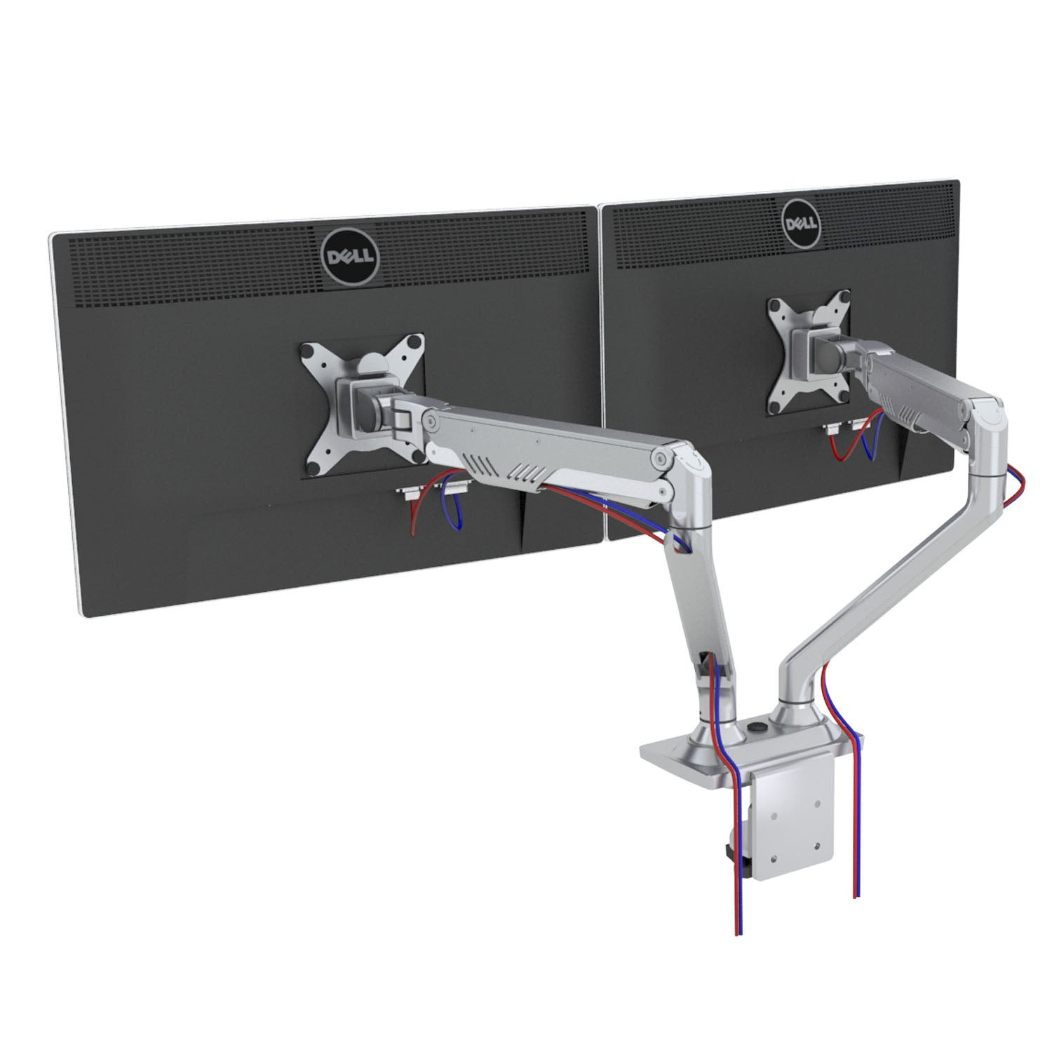 ThingyClub Professional Gas Spring Desk Mount LCD Monitor Arm