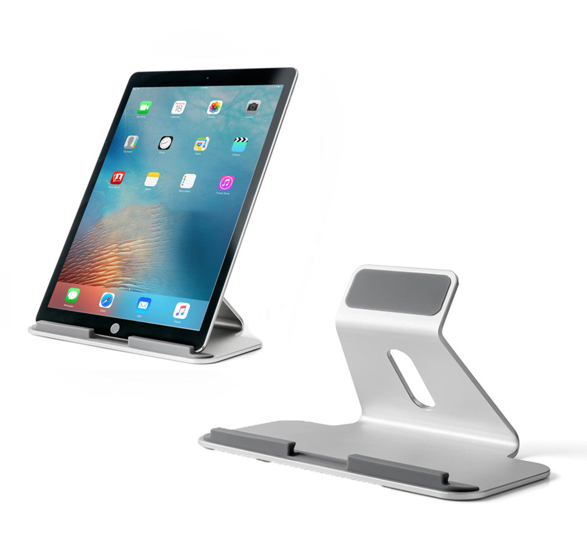 ultimate aluminum desktop stand for apple ipad pro surface pro and rh thingyclub com ipad desk stand for bed ipad desk stand australia