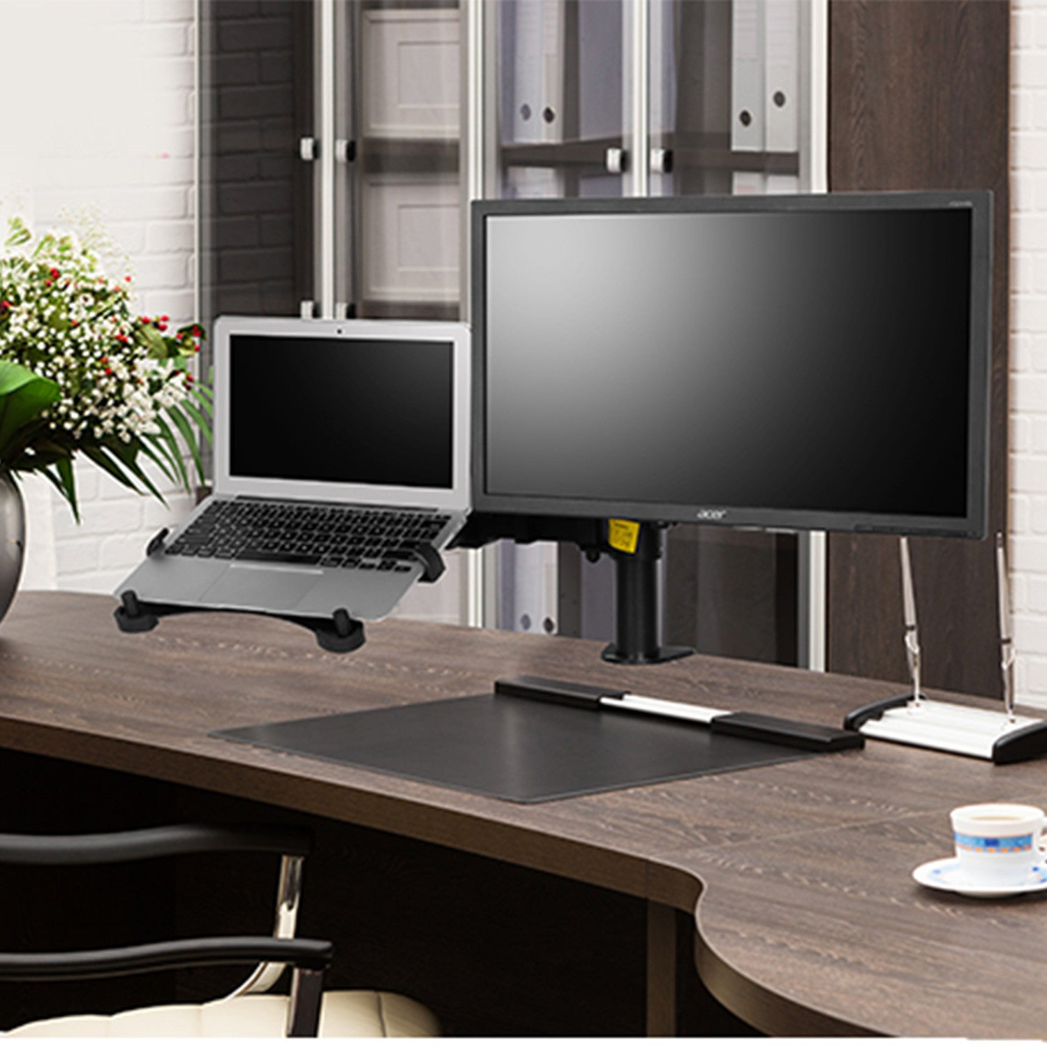 Thingyclub Adjustable Computer Monitor Arm Desktop Mount Stand