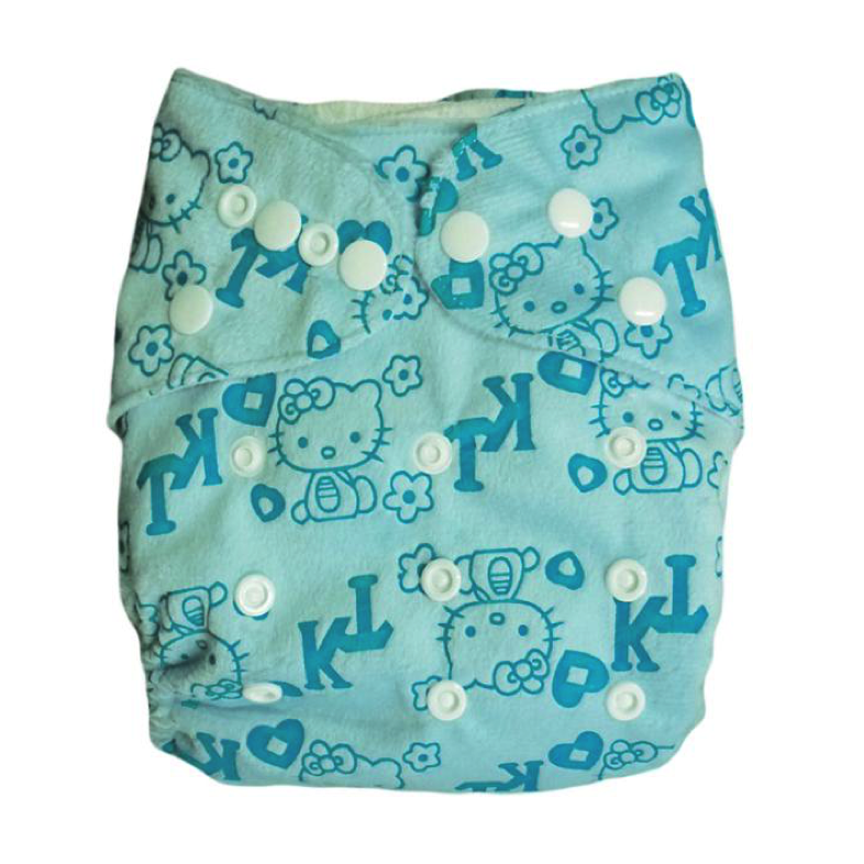 Printed Blue Diaper - Sustain a Living