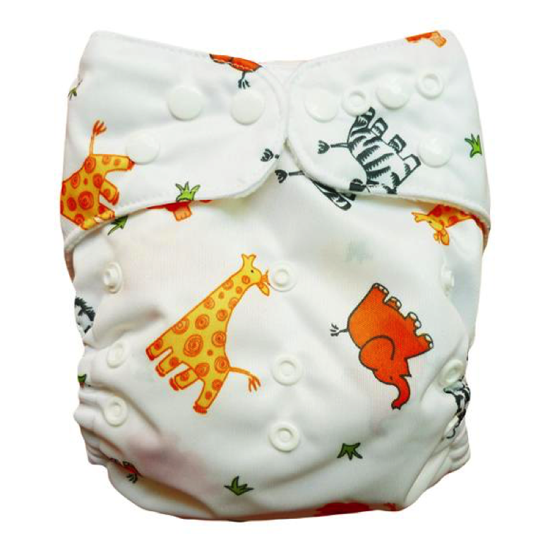 Printed Animal Diaper - Sustain a Living