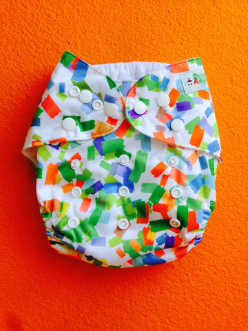 Green Rectangle Diaper - Sustain a Living