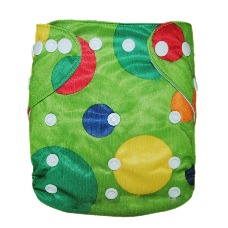 Shapes Green Diaper - Sustain a Living