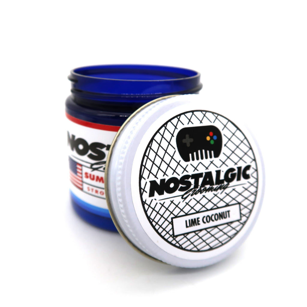 Nostalgic Grooming Lime Coconut Summer Water Based Pomade *Limited Edition 2019*