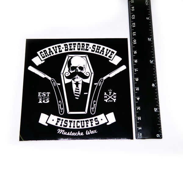 Sticker #15 - G.B.S. Coffin Shavette (Postage Only)