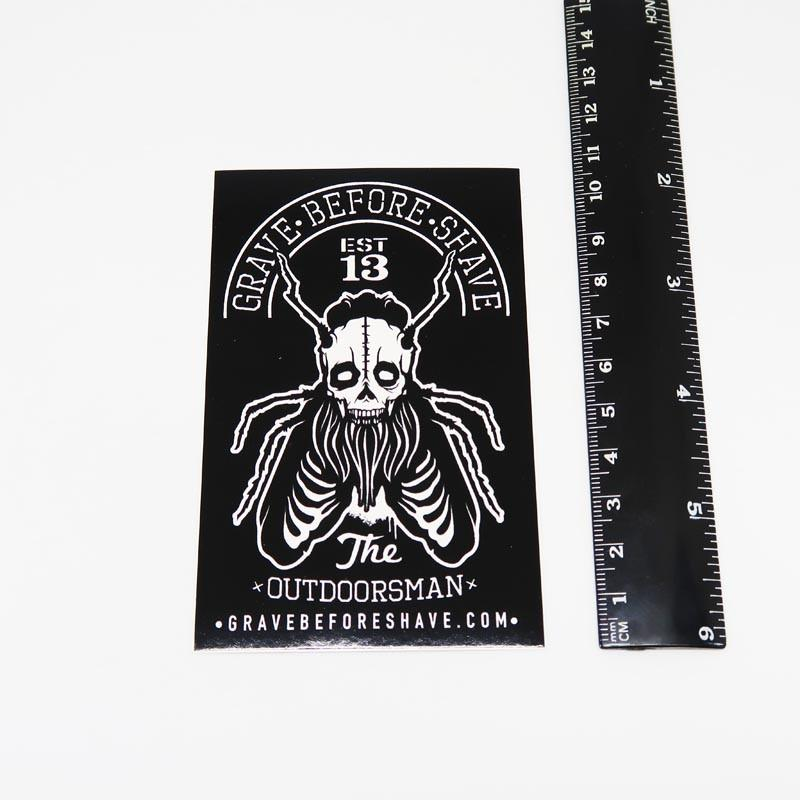 Sticker #18 - G.B.S. Outdoorsman (Postage Only)