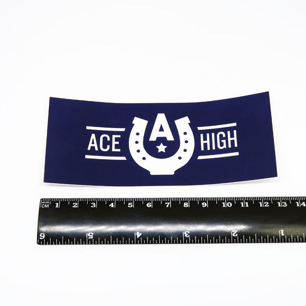 Sticker #25 - Ace High Logo (Postage Only)