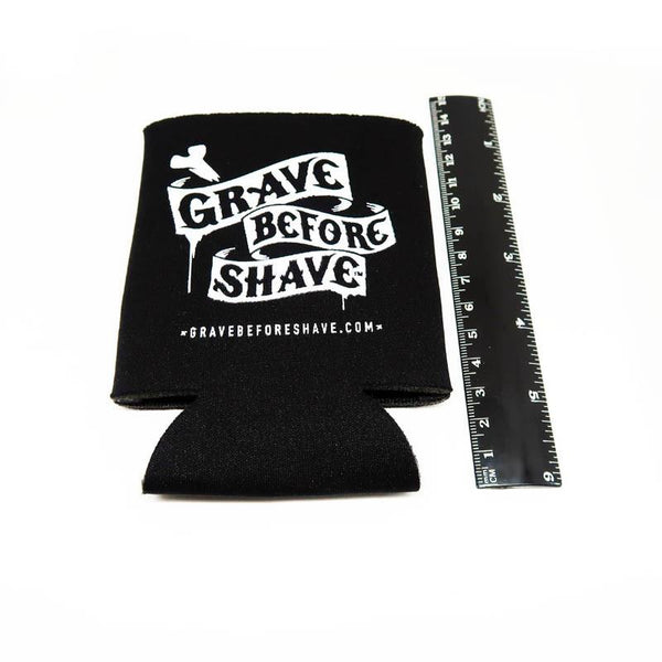 Grave Before Shave Foam Koozie