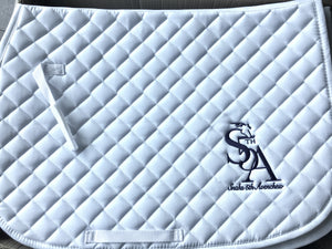 Snaks Embroidered Baby Pad