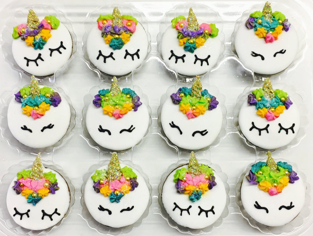 """Gracie the Unicorn"" Crunch Cups"