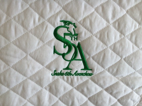 .Snaks Embroidered Baby Pad