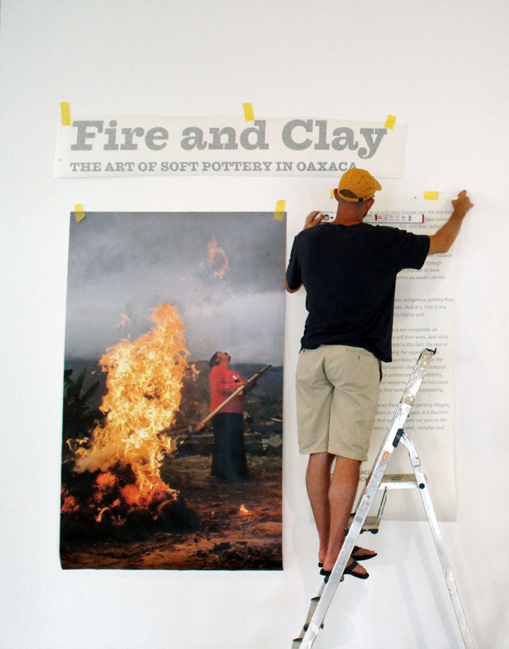 Innovando la Tradición Fire and Clay Exhibition in the Biennial of Ceramics Andenne