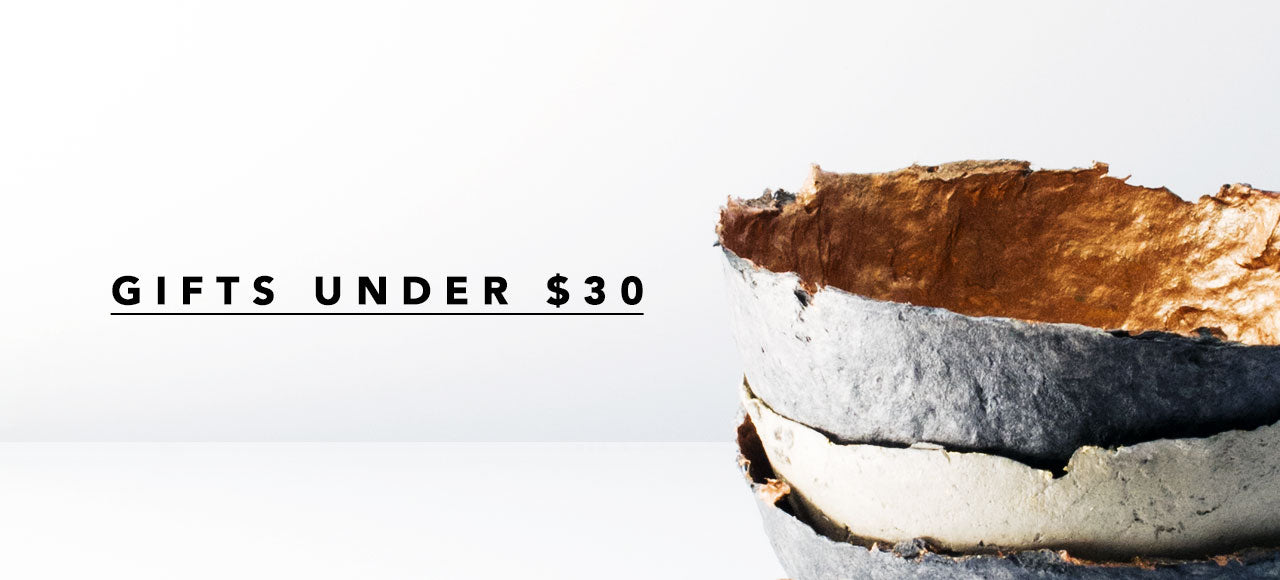 SHOP MINZUU GIFT GUIDE: GIFTS UNDER $30