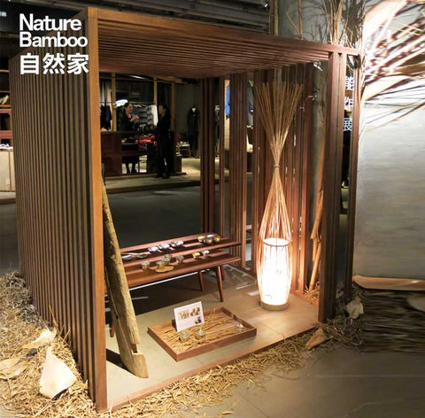 Nature Bamboo handcrafted in China