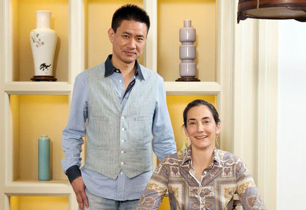 Bo Jia and Alison Alten, Founders of Middle Kingdom Porcelain