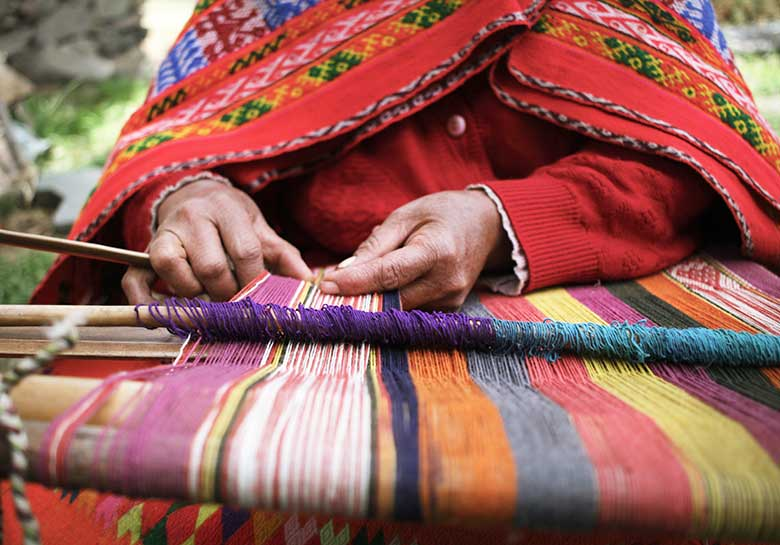 Backstrap Weaving in Peru