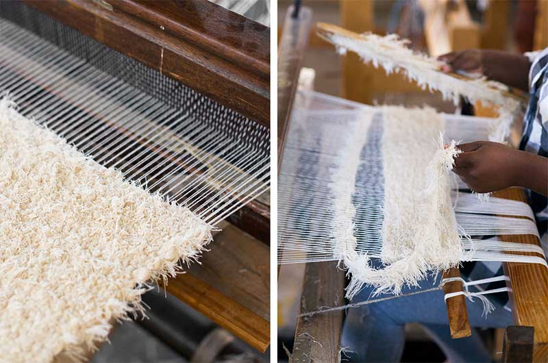 Barrydale Hand Weavers: the Making of the Cloud Rug