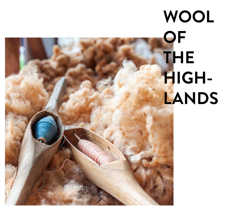 Wool of the highlands