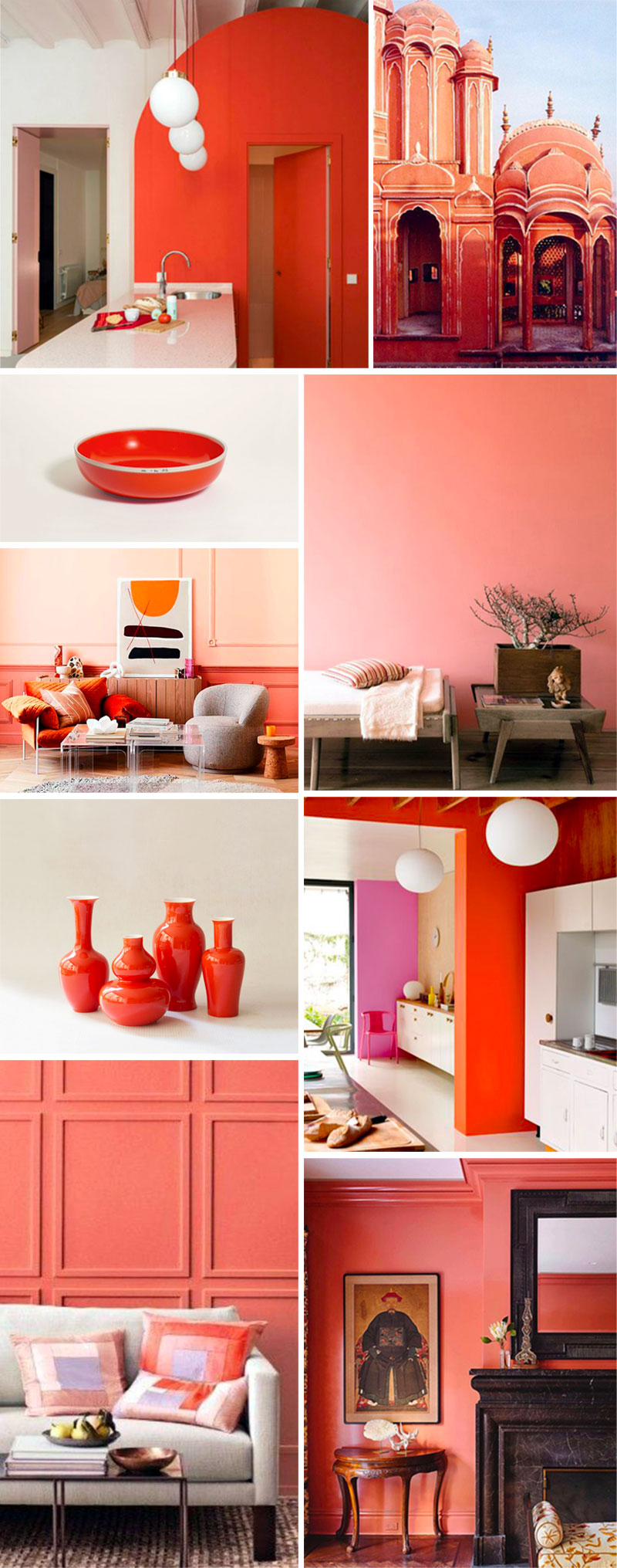 Pantone Color 2019, Living Coral