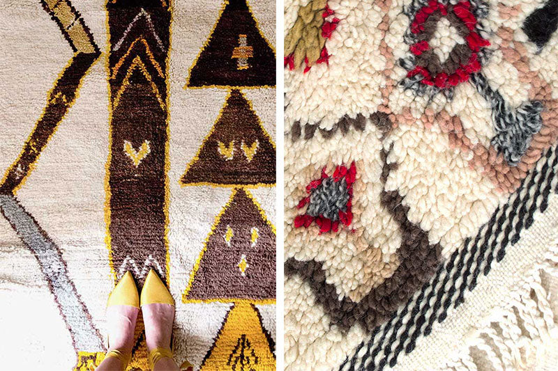 Natural Dye: Henna and Madder on Moroccan Rugs