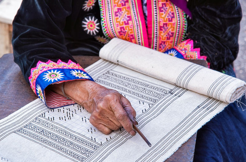 Stories on Hemp: Hmong Batik