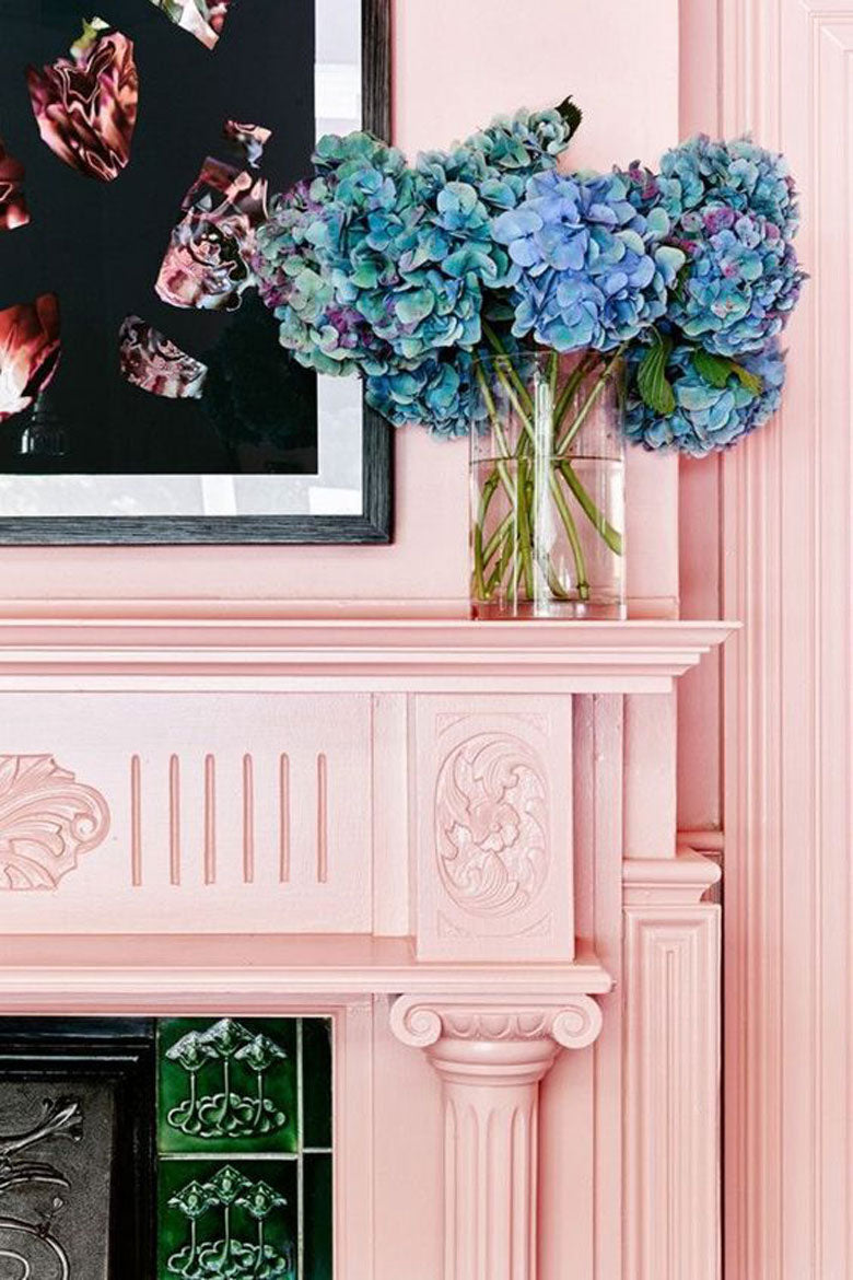 pink is the new neutral, as proven by these 8 rooms. / minzuu blog