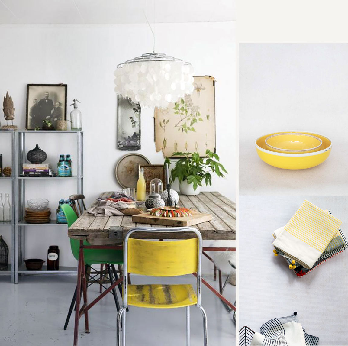 Like the Summer Sun: Yellow in Interiors