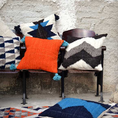 Meso Goods Wool Pillows From Guatemala
