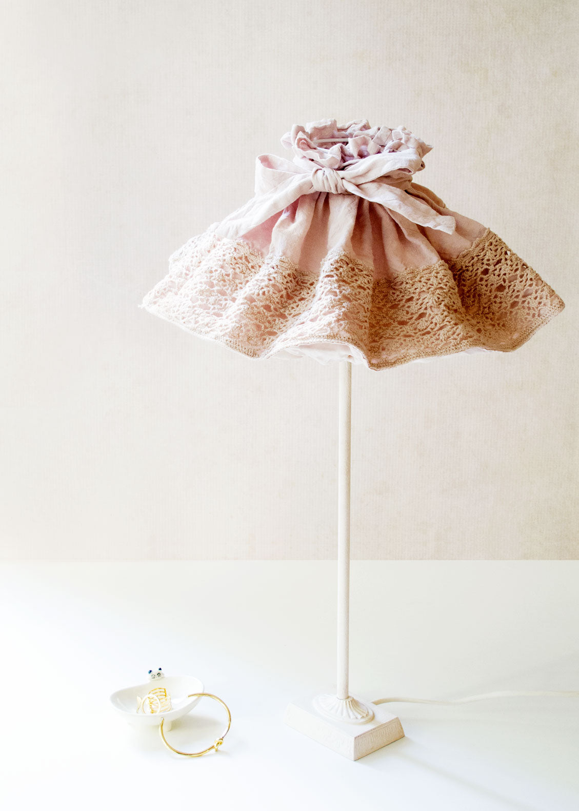 Pigale Lamp Shade, Dusty Pink