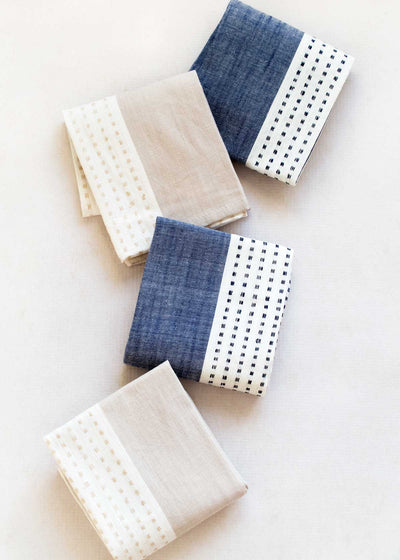 Bloom & Give Dots Napkin, Set of 4