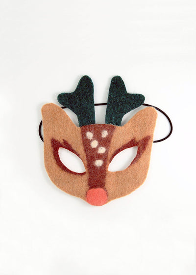 Craftspring Felted Mask, Reindeer