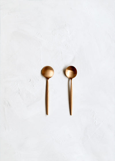 Cutipol Moon Coffee Spoon, Set of 2