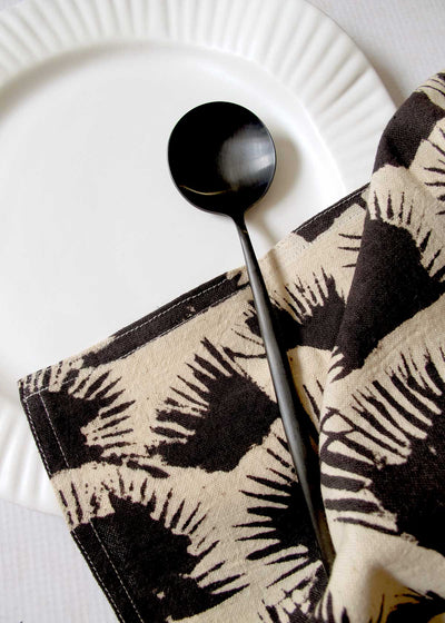 Organic Cotton Palm Shade Napkin, Set of 4