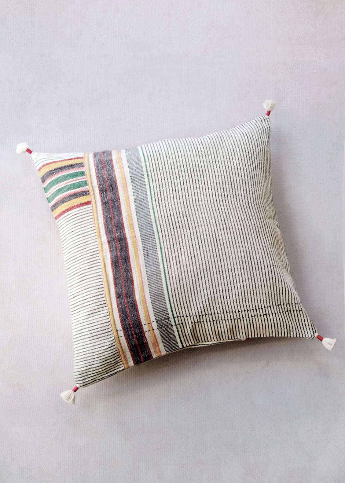 "Injiri Ahir 16"" Pillow, No. 7"