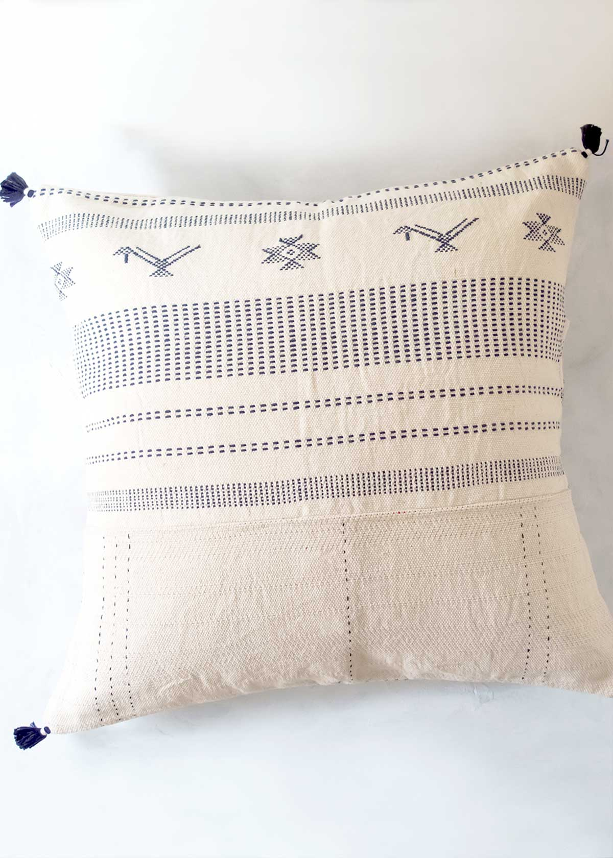 "Injiri Ahir 20"" Pillow, No. 8"