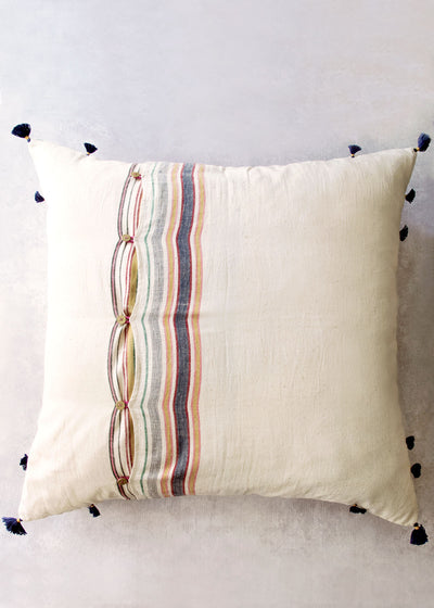 "Injiri Ahir 24"" Pillow, No. 1"