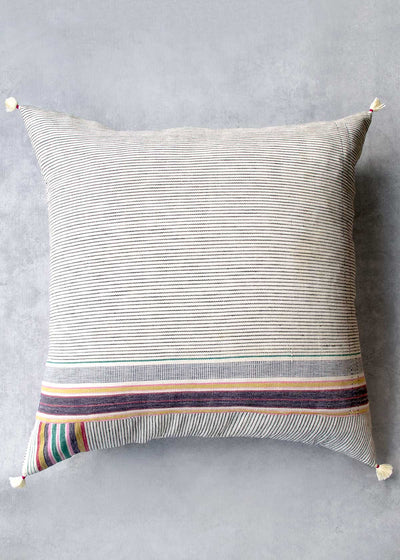 "Injiri Ahir 24"" Pillow, No. 7"