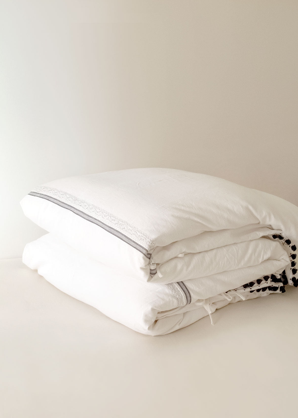 Injiri Handwoven Cotton Duvet Cover