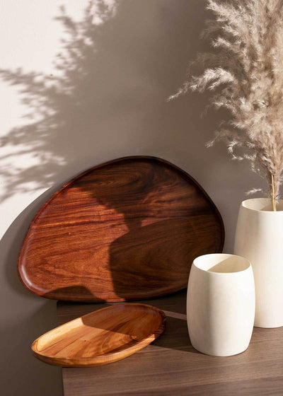 Itza Wood Leaf Tray