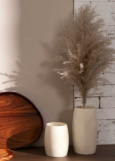 Melina Wood Vase