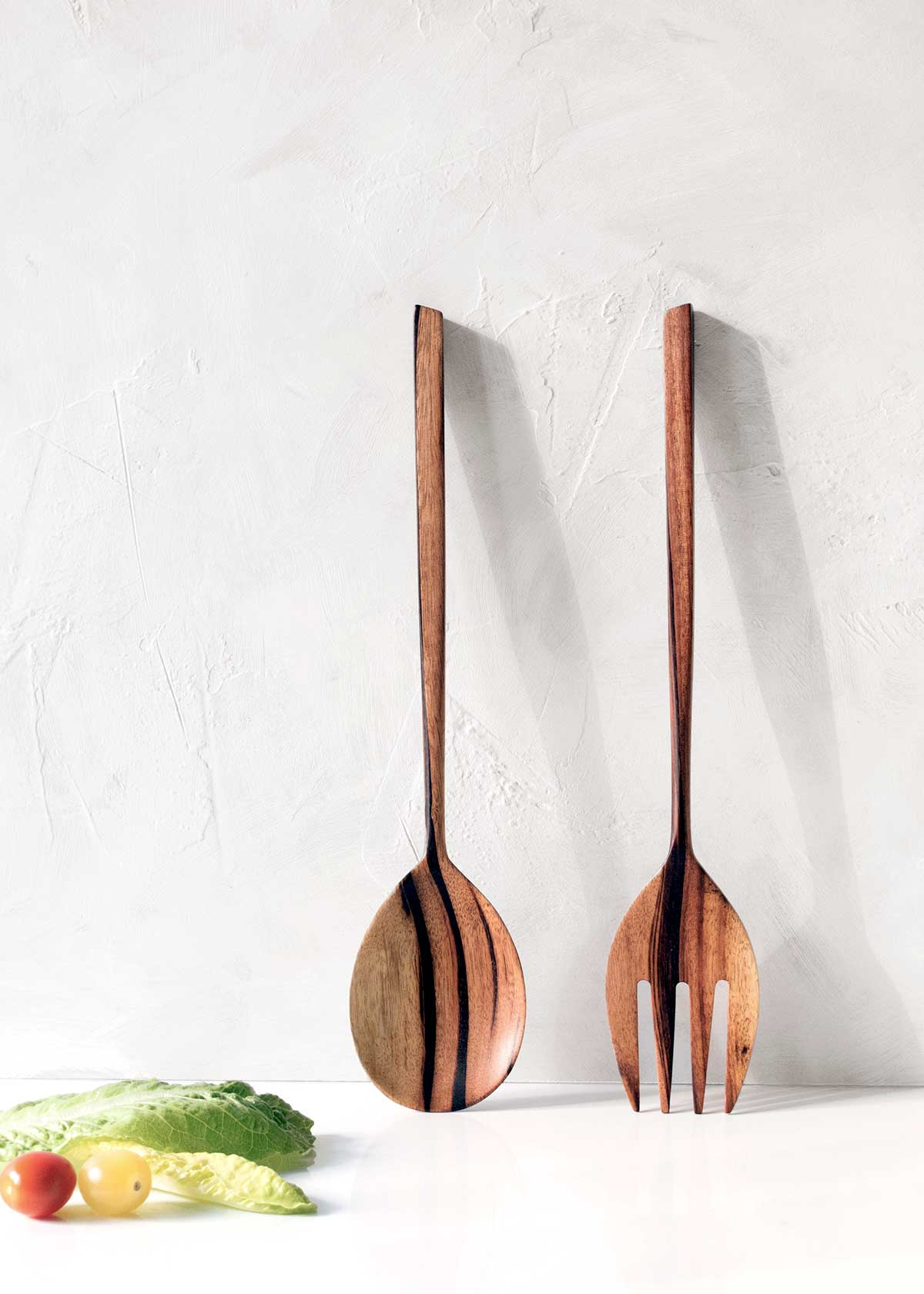 Itza Wood Jobillo Salad Servers, Set of 2