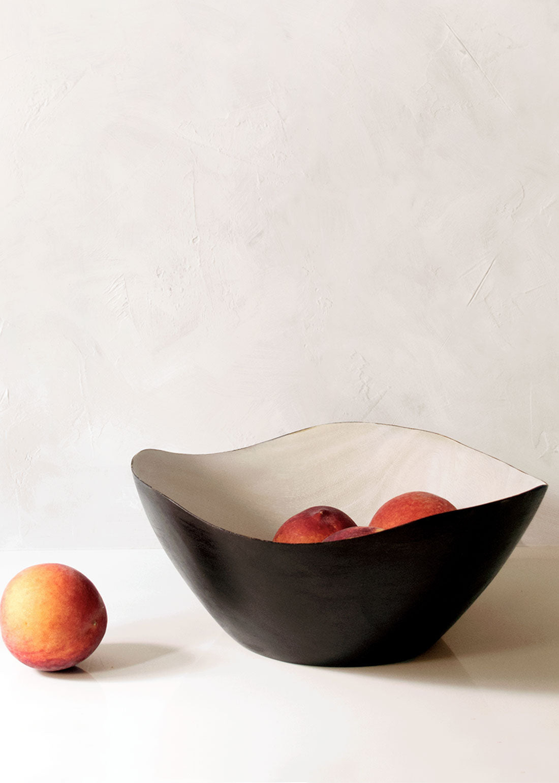 Itza Wood Charred Wave Bowl