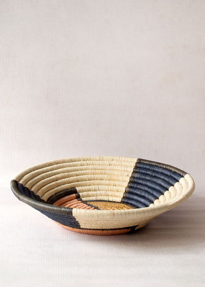 Kazi Strawberry Moon Raffia Basket